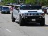 hummer limo on road
