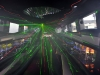 hummer limo interior with green lights zoom