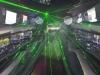 hummer with laser lights