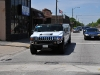 hummer on stop