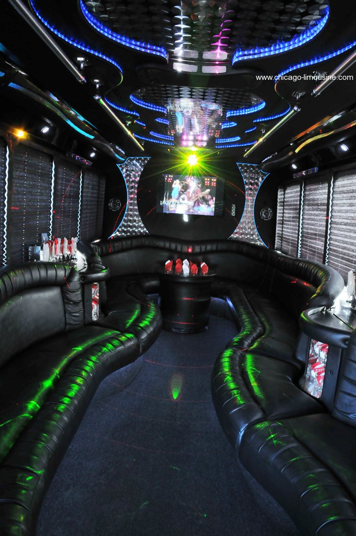Make this chicago party bus part of you special event